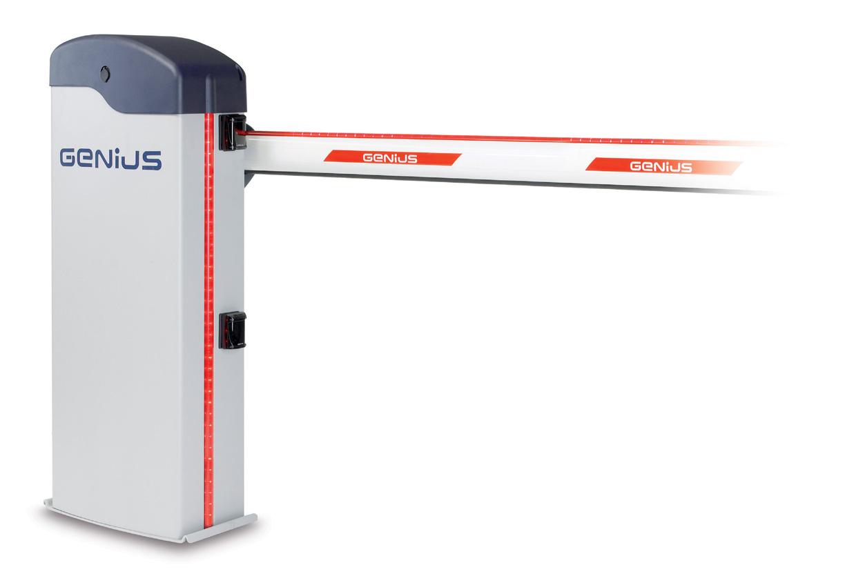 Автоматический шлагбаум Genius Rainbow 724 c
